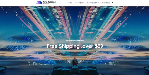 Nova-Amazing - Shopify Profitable Premium Dropshipping Store