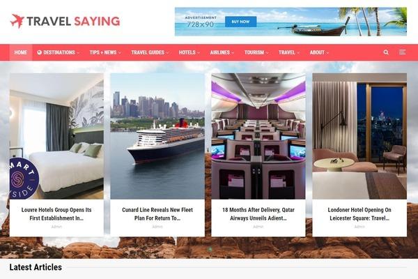 TravelSaying.com - Fully Automated Travel Blog + Free Hosting (Bonus) -Earn Upto $5k/Month