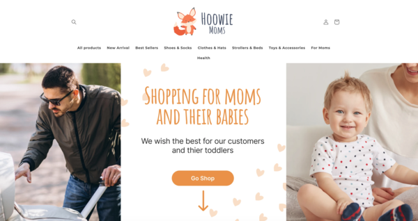 Hoowie Toddler - This store is for those who looks for store to investment. Perspective niche of products will be perfect for buyer with enough budget for advertisement