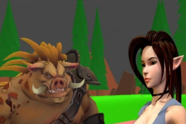 PigMan Escape - Attractive 3D virtual reality best action race game has good potential to earn.