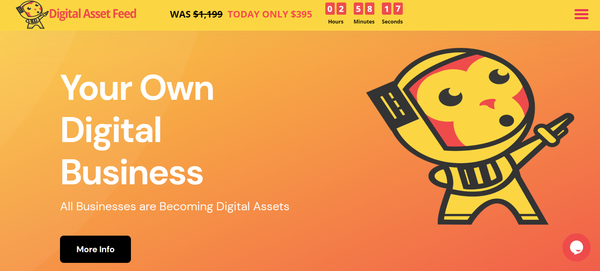 DigitalAssetFeed.com - Own Your Own Digital Services Business Agency
