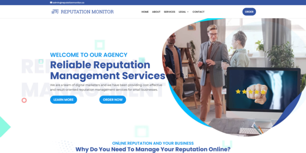 ReputationMonitor.co - PROFITABLE REPUTATION MANAGEMENT BIZ - Made $1980 in 3 Months. Recession Proof