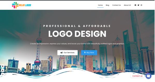 RelaxLogos.com - Logos Service Reseller Site Newbie Friendly No Coding skills Required !
