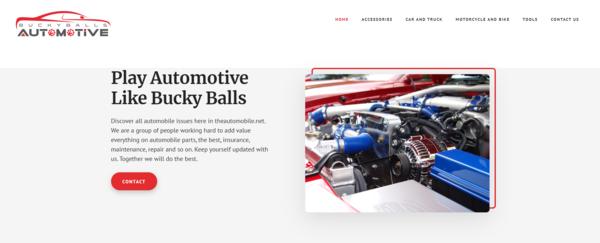getbuckyballs.com - Advertising / Automotive