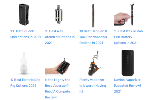 vaporizero.com - Advertising / Electronics