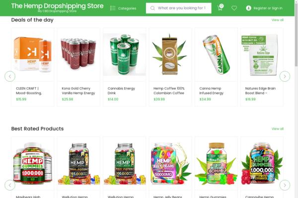 cbdoilsc.com - Starter Amazon Affiliate Site For Sale on Evergreen Cannabis/Hemp products Niche