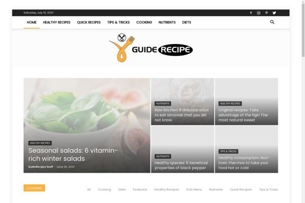 guiderecipes.com - GuideRecipes.com: Recipes Guides, Cooking, Cuisines, Diets, Nutrients