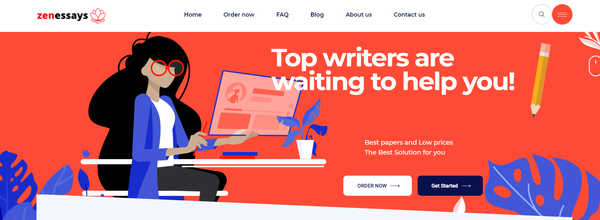 zenessays.com - 100% Automated White Label Essay Writing Service Service. Average Order is 120$