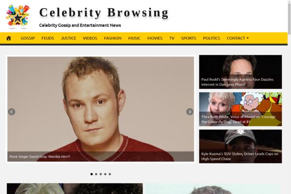 CelebrityBrowsing.com - Celebrity News & Gossip - Fully Automated - Amazon & Ad Income - BIN Bonus