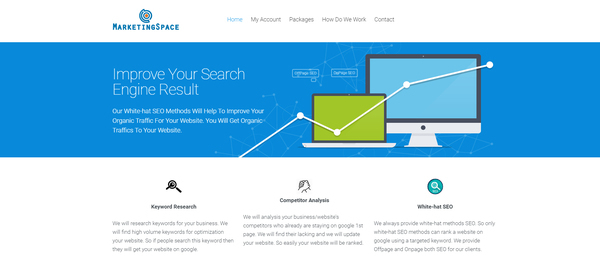 MarketingSpace.pro - Revenue $4,600usd in Last 40 Days & Net Profit is Around $2,400. SEO Service Selling Business. No Experience Required. The New owner will Earn will Also Earn.