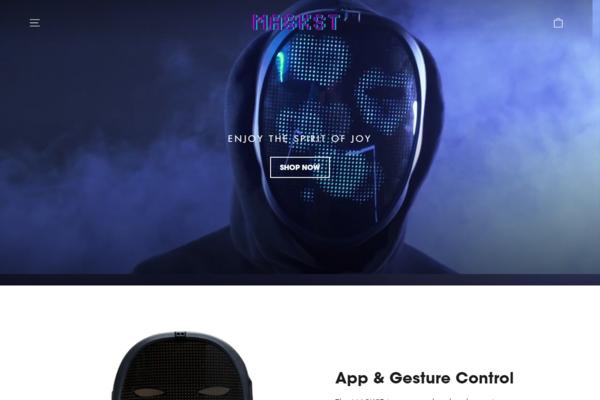 maskst.com - MASKST.COM   Branded One Product Shopify Store