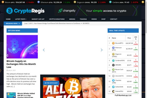 cryptoregis.com - Cryptoregis.com