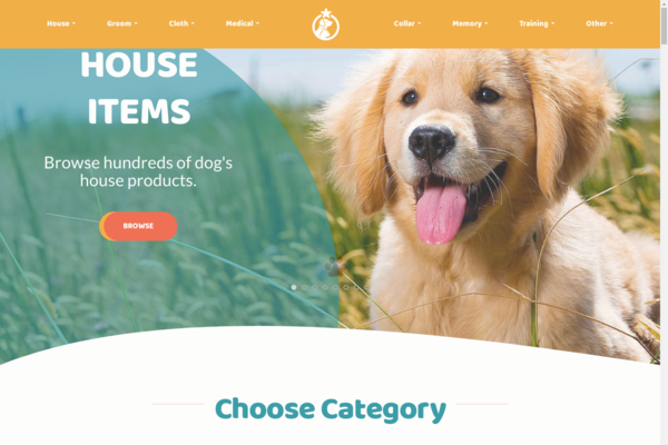 dogshop247.com - Earning $2,391/month, Dog Selling Items, Newbie friendly, Outsourced orders.