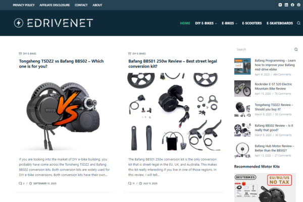 edrivenet.com - Advertising / Automotive