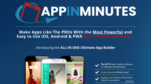 app-in-minutes.net - The Best ALL-IN-ONE Ultimate App Builder