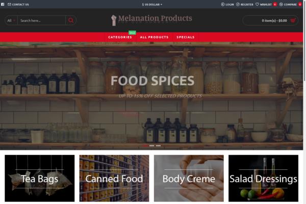 melanationnatural.com - Free Unlimited Hosting For Premium Organic Store