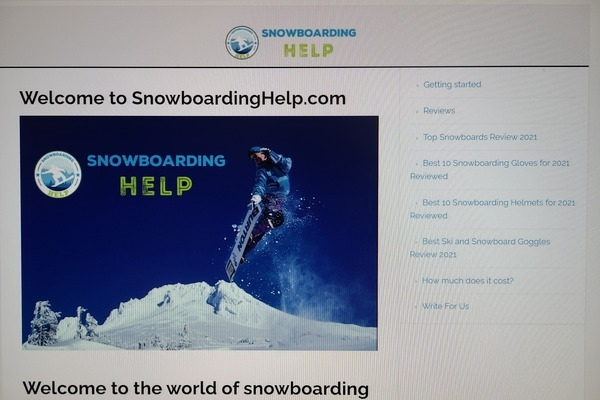 snowboardinghelp.com - Advertising / Sports and Outdoor