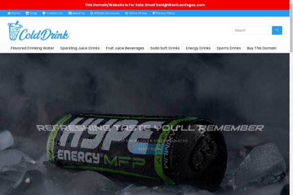 ColdDrink.com - ColdDrink.com - 21+ YRS Old - Brandable Aged Premium Domain Name for Sale