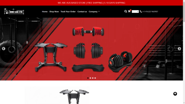 homecaregym.com - USA Dropshipping Store for sale |Gym Products|  Delivery within 7 day