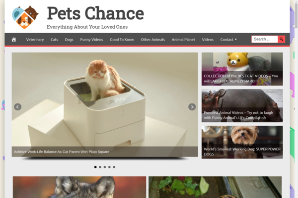 PetsChance.com - Fully Automated Pet News Website. Get 5 Automated Websites worth over $900