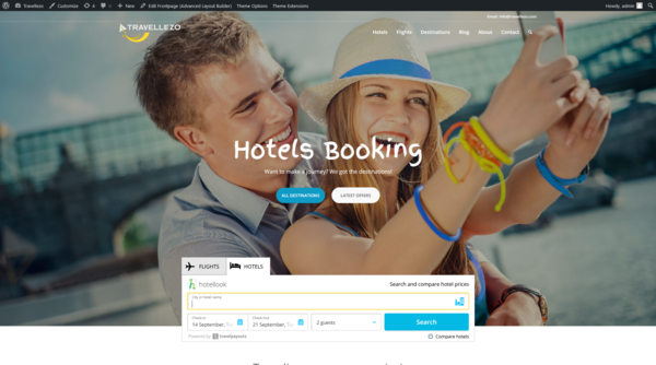 Travelezzo.com - Automated Travel Hotels & Flights Booking Affiliate. High Potential Income