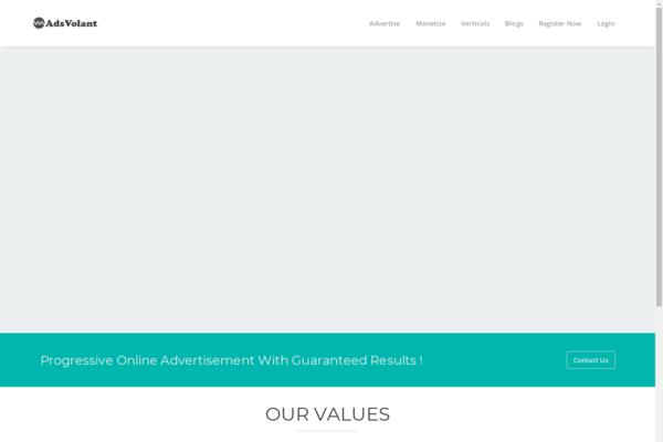 adsvolant.com - AdsVolant.com - Newly developed CPA Affiliate Network