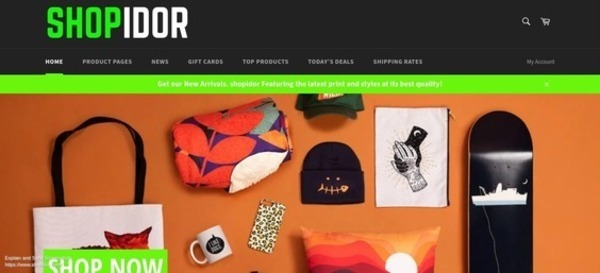 shopidor.com - Website for sale in the Design and Style industry