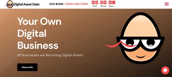 DigitalAssetGate.com - Own Your Own Digital Services Business Agency