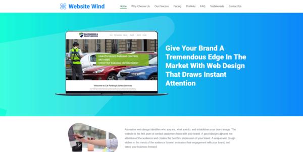 WebsiteWind.co - PROFITABLE WEB DESIGN BIZ - Made $2100 in 3 Months. Recession Proof Biz