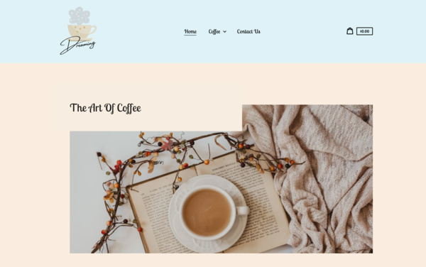 CoffeeDreaming.com - CoffeeDreaming.com |U.S. Supplier| Dropshipping Coffee Store|$1,199 Domain Value