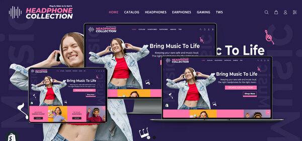 HeadphoneCollection.com - PREMIUM SHOPIFY HEADPHONES SUPPLIES DROPSHIP. Fully Automated. Profitable