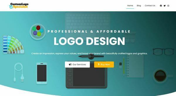CustomLogoSpecialist.com - Stunning Logo Service Reseller Business Site, Huge Income Potential