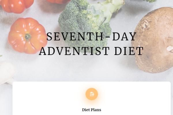 seventhdayadventistdiet.com - e-Commerce / Health and Beauty