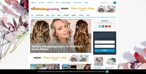 WeddingLovering.com - Automated Amazon Wedding Niche Blog To Make Money Online, Earn Up To $5k/mo