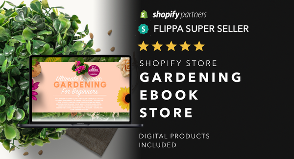 HouseGardeningGuides.com - Password: 1234 | Gardening Ebooks Shopify Store For Sale Startup Streams