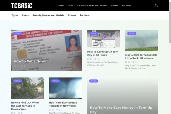 tcbasic.com - Automotive site with passive income Adsense.