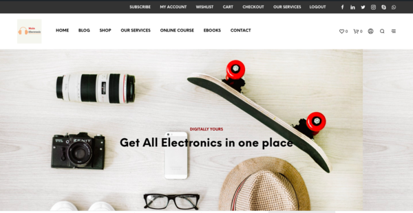 MainElectronic.com - Automated Amazon Affiliate & Dropshipping Mega store, BIN Bonus, 12Yr.old domain