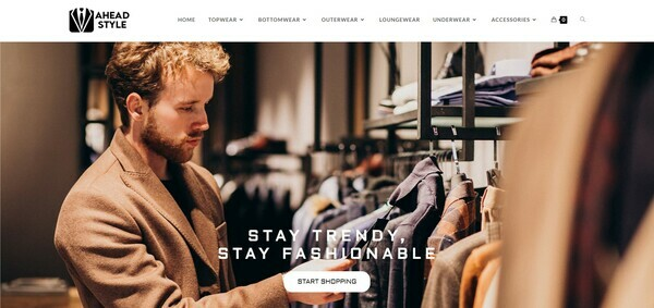 AheadStyle.com - Premium FASHION Store, Easy to Operate, 100% DROPSHIP from USA - HUGE BIN BONUS!