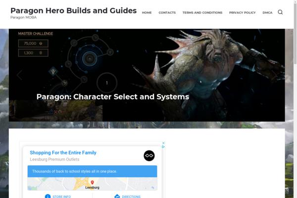 paragon-game.com - Earning adsense approved Game blog on wordpress