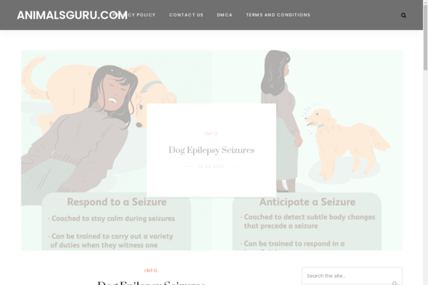 animalsguru.com - Blog about pets on WordPress