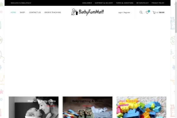 BabyFunMall.com - Automated DropshipStore US Supplier,Profit $156/Month, Hot Niche,Premium Domain