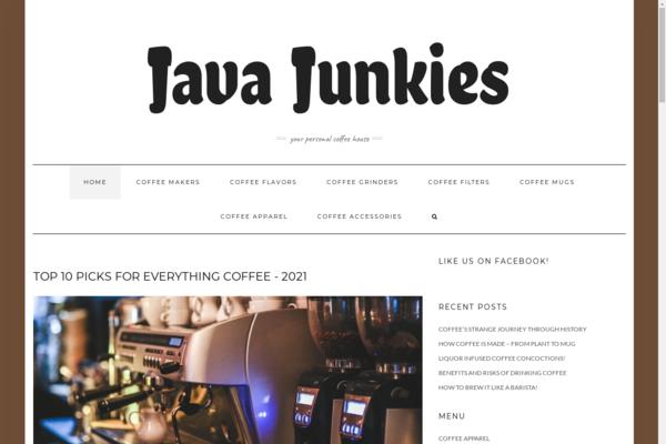 thejavajunkies.com - Your Personal Coffee House