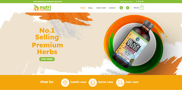 Nutrihealthfood.com - NUTRIHEALTHFOOD.COM Professional Healthfood store 5,000+inventory USA Supplier