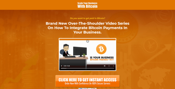 ScaleBusinessWithBitcoin.com - 10 eCommerce Websites With Digital Products   Exciting Buy It Now Bonuses
