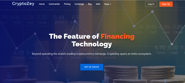 Cryptozey.com - Best Cryptocurrency Live Price Index, News and Tools and more