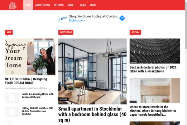 tg-uk.com - SEO Architecture and interiors design WORDPRESS site. Unique content 99%