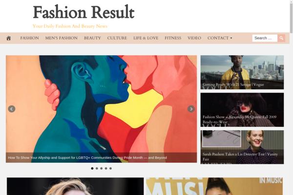 FashionResult.com - 100% Automated FASHION Site, Amazon & Ad income + BIN Bonus