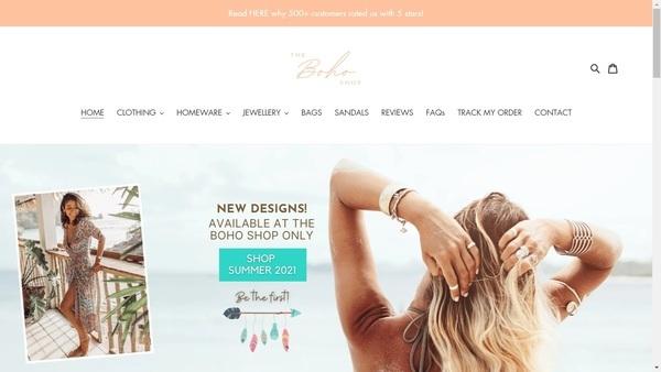 bohosummer.eu - e-Commerce / Design and Style
