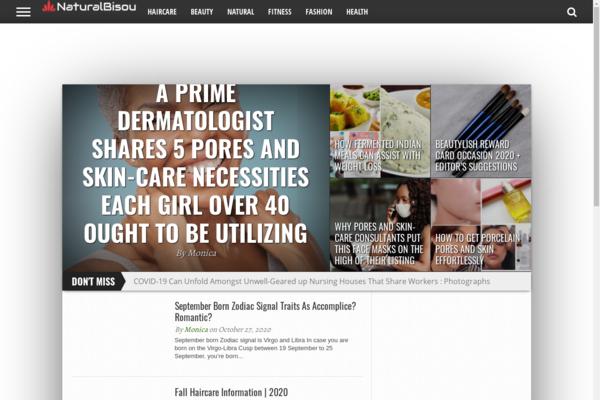 naturalebisou.com - NaturaleBisou - Health, Fitness, Beauty Blog (1300+ articles) - Passive Income