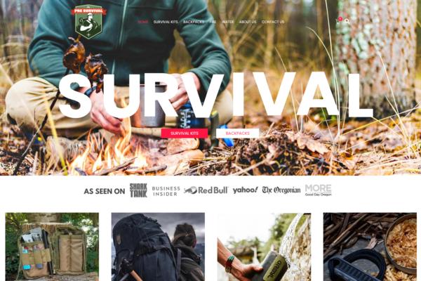 presurvival.com - Premium Survival Amazon Dropshipping Store, Earn Up To $5k/Month- $1392 Domain